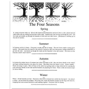The Four Seasons  set of 4